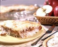 Рецепт Рисовая каша с яблоками