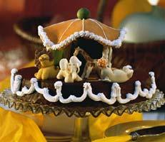 Рецепт Шоколадный торт с апельсиновым ликером