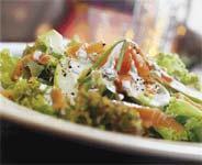 Рецепт Яблочный салат с семгой