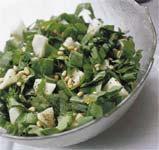 Рецепт Салат из шпината с яблоками
