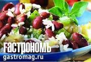 Рецепт Рис с фасолью и сладким перцем