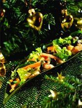 Рецепт Экзотический салат с авокадо