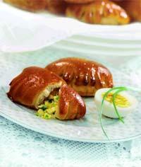 Рецепт Пирожки с яично-луковой начинкой