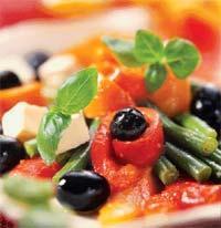 Рецепт Средиземноморский салат из перца