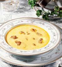 Рецепт Суп из гуся с рисом и яблоками