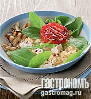 Рецепт Кускус с моццареллой и томатами