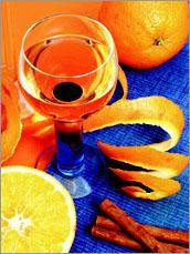 Рецепт Ликер из апельсинов с корицей