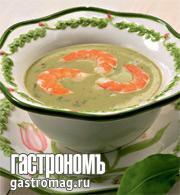 Рецепт Щавелевый суп с пастернаком и креветками