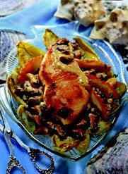 Рецепт Филе калкана с моллюсками