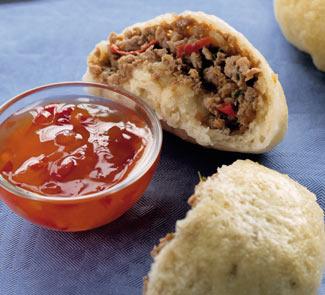 Рецепт Китайские булочки с уткой и тархуном