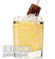 Рецепт Экзотический смузи из манго с кокосом