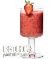 Рецепт Дынно-клубничный смузи