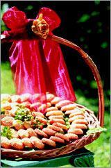 Рецепт Сырное печенье с кунжутом