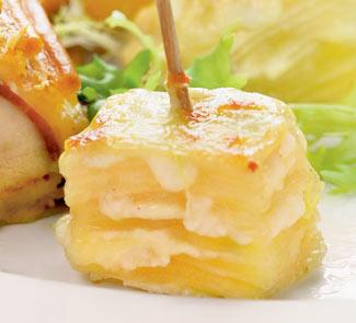 Картофельный гратен в духовке