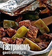 Рецепт Рагу из фасоли с бараниной
