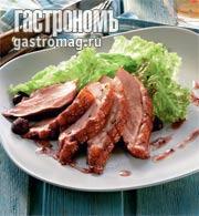 Рецепт Утиные грудки с ежевикой
