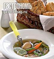 Рецепт Суп из свежих овощей на летнем бульоне