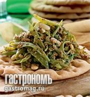Рецепт Пхали из зеленой фасоли от Марины Мачавариани