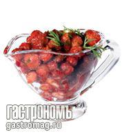 Рецепт Острая сальса из земляники с лаймом
