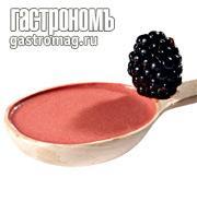 """Рецепт """"Белый русский"""" соус-капучино с ежевикой"""