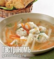 Рецепт Уха с фрикадельками от Антонио Баратто