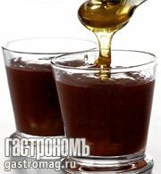 Рецепт Шоколадный мусс со сливами