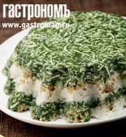Рецепт Террин из сыра с тархуном и шпинатом