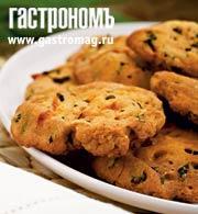 Рецепт Крекеры с базиликом и помидорами