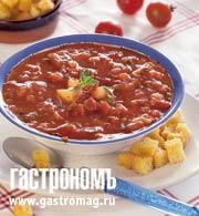 Рецепт Томатный суп с водкой