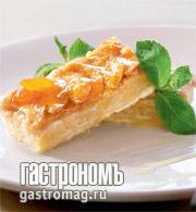 Рецепт Магрибский пирог с миндалем и грушами