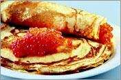 Рецепт Блины из гречневой и пшеничной муки