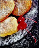 Рецепт Масленичные пончики по-креольски