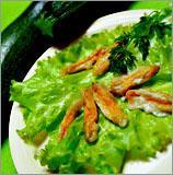 Рецепт Цветки кабачков в кляре