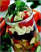 Рецепт Ассорти из овощей и фруктов