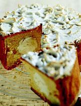 Рецепт Апельсиновый торт с мороженым
