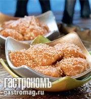 Рецепт Ореховый десерт
