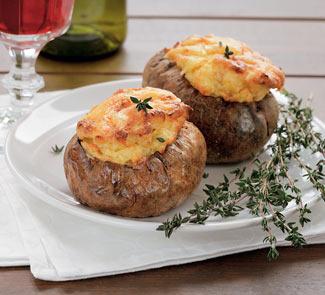 Рецепт Запеченный картофель-суфле
