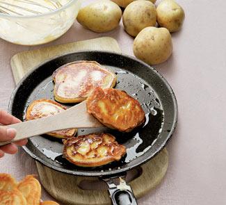 Рецепт Оладьи картофельные