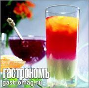 Рецепт Кисель слоеный