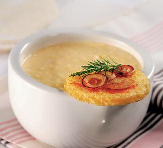 Рецепт Сырный крем-суп