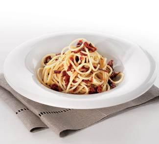 Рецепт Спагетти с вяленными на солнце томатами