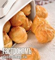 """Рецепт Сырные шарики """"Гужер"""" из заварного теста"""