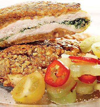Рецепт Куриное филе в корочке из арахиса