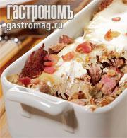 Рецепт Драники, запеченные с грудинкой