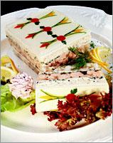 Рецепт Заливное из трех сортов рыбы