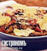 Рецепт Запеканка из свинины с грибами и картофелем