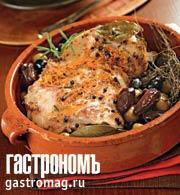 Рецепт Лопатка ягненка по-мароккански с пряностями