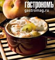 Рецепт Медовые фрукты с маскарпоне