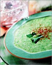 Рецепт Холодный суп из огурцов