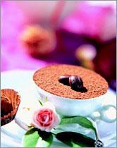 Рецепт Шоколадные трюфели с фундуком